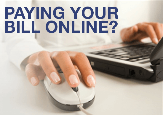 Online Bill Pay Now Available Slideshow